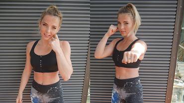 Trening kickboxingu na brzuch
