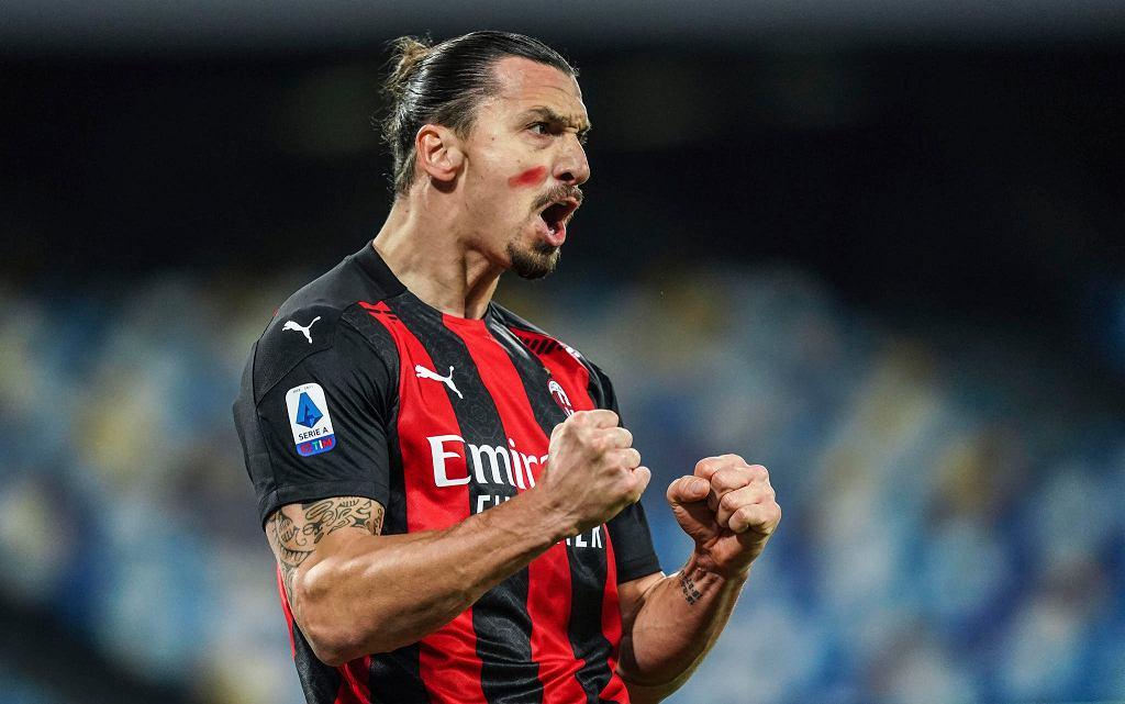 Zlatan Ibrahimović i jego Milan mogą zagrać w finale Ligi Europy w Gdańsku