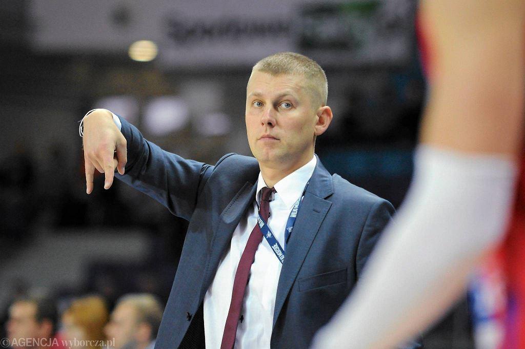 Marek Łukomski jest trenerem King Wilków Morskich Szczecin