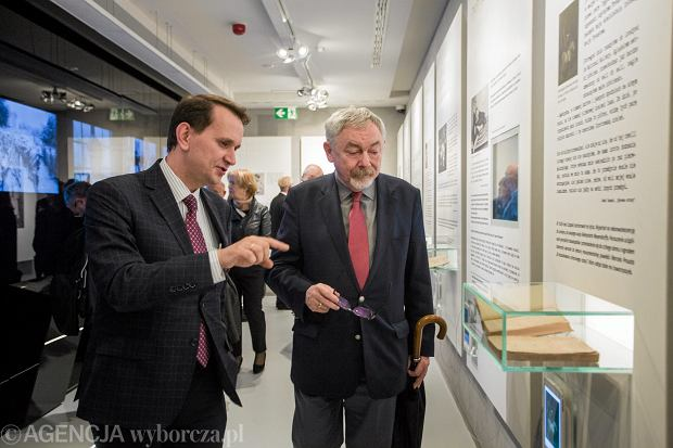 Oficjalne otwarcie Nocy Muzeów 2016 z odziałem prezydenta Krakowa Jacka Majchrowskiego i Andrzeja Betleja, dyrektora Muzeum Narodowego.