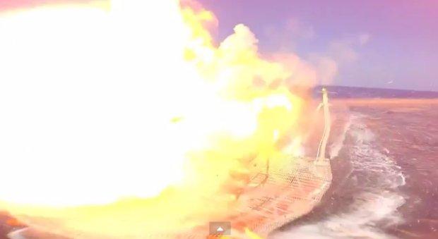 Amerykanie mają nową, potężną broń laserową. Kadr z filmu: