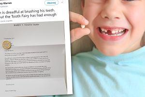 """8-latek nie chciał myć zębów. Rodzice dali mu list od Wróżki Zębuszki. """"Genialne! Zrobię tak swojemu dziecku"""""""