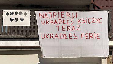 Protesty w Szczyrku