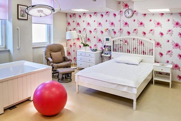 Państwowy szpital, a w nim sala do rodzenia jak w prywatnej klinice. W Polsce. Ile to kosztuje? [ZDJĘCIA]