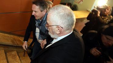 Gerald Birgfellner w Prokuraturze Okregowej w Warszawie