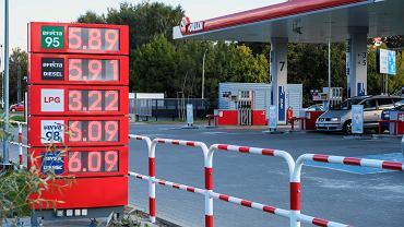 Ceny paliw na stacjach, 14.10.2021