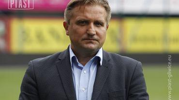 Adam Sarkowicz, prezes Piasta Gliwice