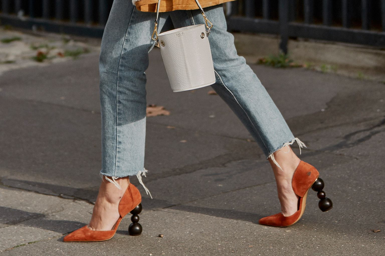 Trendy 2019: szpilki z dziwnym obcasem to najmodniejsze buty