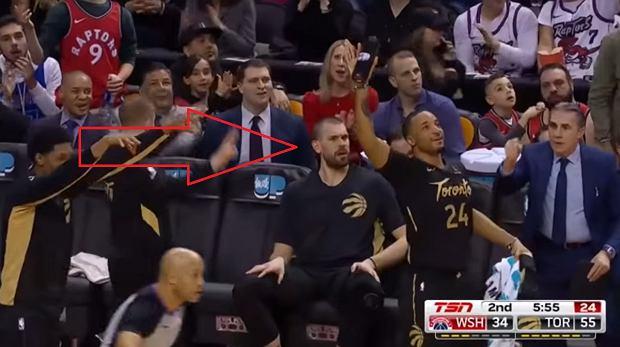 Niewiarygodny rzut w NBA. Kyle Lowry zaskoczył wszystkich [WIDEO]