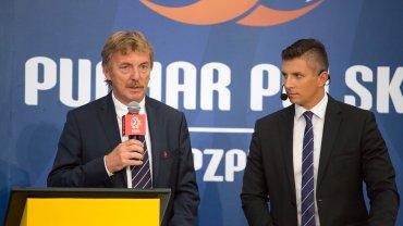 Zbigniew Boniek i Mateusz Borek