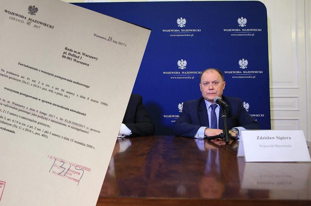 Ustawa Warszawska - referendum się nie odbędzie