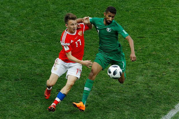 """Mistrzostwa świata w piłce nożnej. Rosja - Arabia Saudyjska. """"Chłopiec z Syberii"""", który rozbił Saudyjczyków. Kim jest Aleksandr Gołowin?"""
