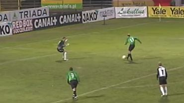 Marek Gołębiewski strzelił gola w meczu Świtu z Legią