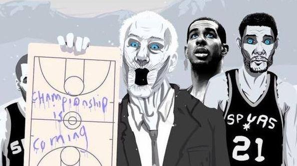 San Antonio Spurs jako nieumarli z