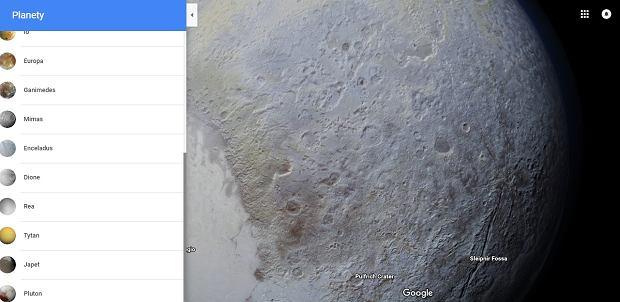 Teraz w Google Maps zobaczysz nawet Plutona