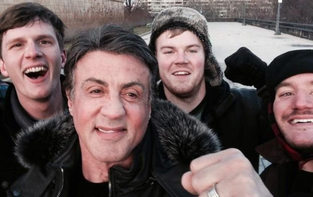 Peter Rowe, Sylvester Stallone, Jacob Kerstan i Andrew Wright