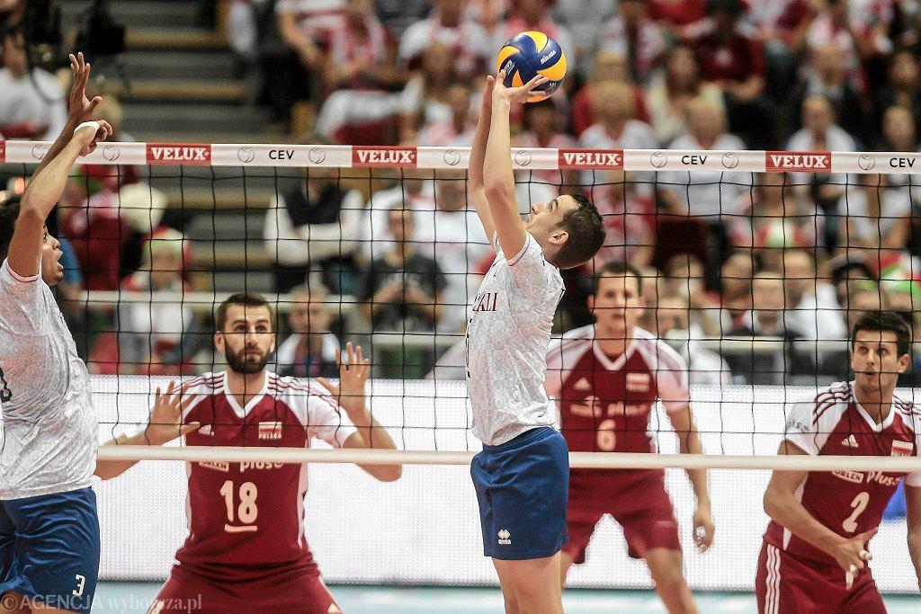 Polska - Francja 1:3. Rozgrywa Benjamin Toniutti