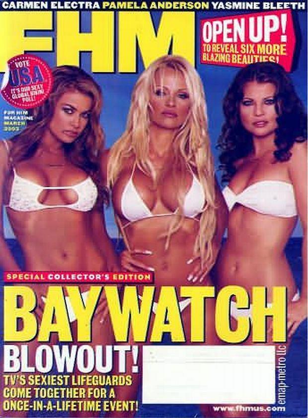 Pamela Anderson, Yasmine Bleeth, Carmen Electra