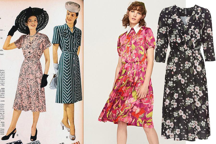 Sukienki w stylu lat 40.