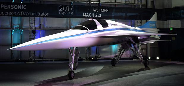 Boom Supersonic XB-1: odrzutowiec ponaddźwiękowy