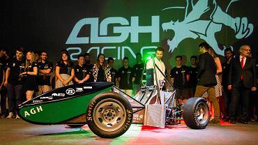 Prezentacja bolidu Stanisław AGH Racing
