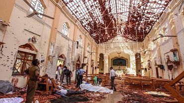 Zamach w kościele na Sri Lance