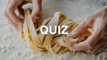 Makarony quiz