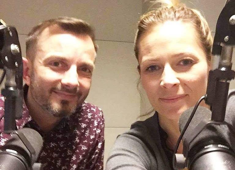 Odeta Moro i Tomasz Rożek w programie 'Morowy Weekend'