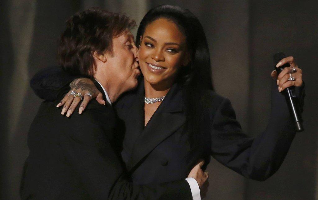 Paul McCartney i Rihanna