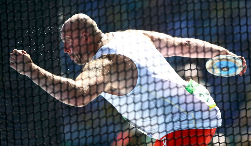 Piotr Małachowski - srebrny medal na Igrzyskach w Rio 2016