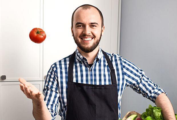 Eryk Wałkowicz - autor bloga erVegan