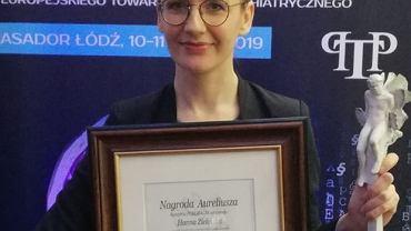 Hanna Zielińska laureatką Nagrody Aureliusza