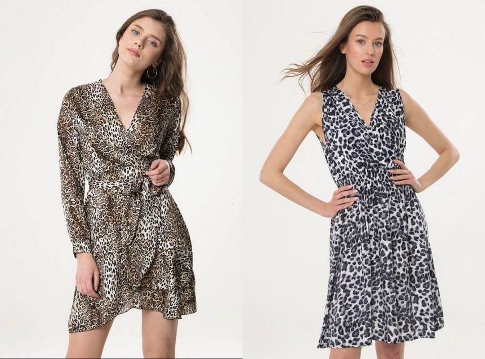 Sukienki na lato w zwierzęce wzory
