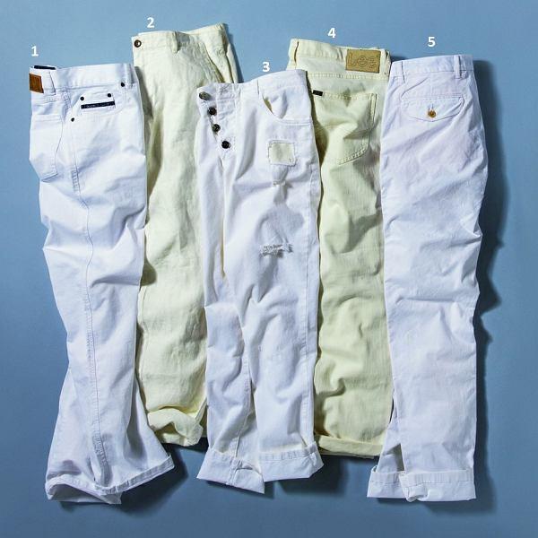 Białe spodnie: podejmij to wyzwanie! 10 propozycji