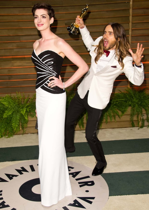 Anne Hathaway i Jared Leto