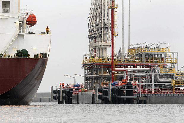 Gazoport - terminal gazu skroplonego LNG w Świnoujściu