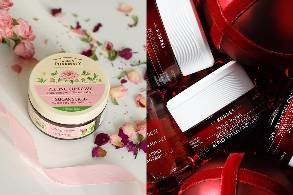Różane kosmetyki