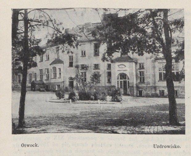 Otwock w dodatku turystycznym z 1931 r.