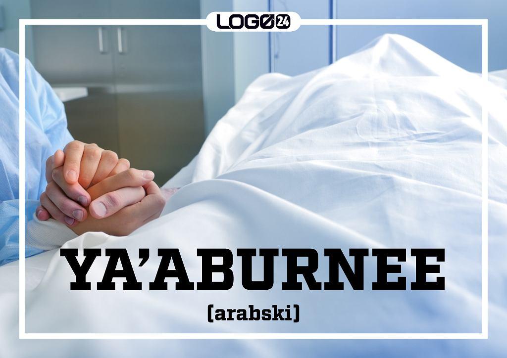 Ya'aburnee (arabski) - nadzieja, że umrzemy szybciej niż nasza ukochana.