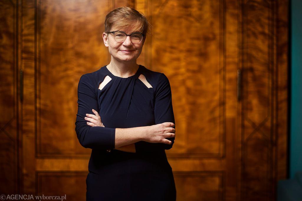 Milenia Fiedler, rektorka Państwowej Wyższej Szkoły Filmowej, Telewizyjnej i Teatralnej w Łodzi