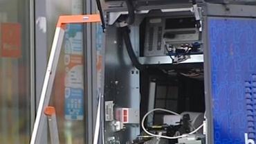 Złodzieje wysadzili bankomat w Łebie