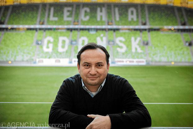 Lechia Gdańsk bez prezesa. Adam Mandziara niespodziewanie zrezygnował