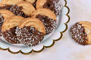 Ciastka orzechowe z czekoladą - proste, piękne i pyszne [PRZEPIS]