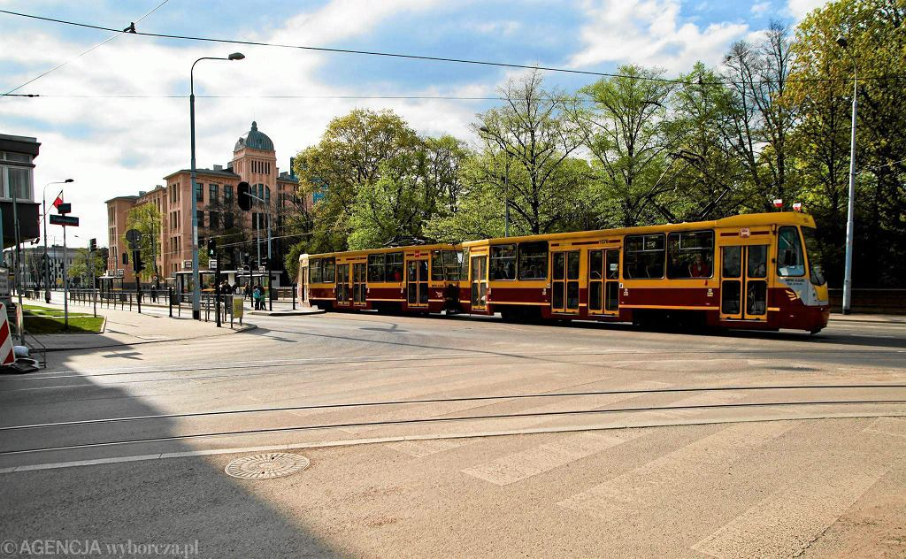 Tramwaj potrącił mężczyznę w Łodzi (zdj. ilustracyjne)