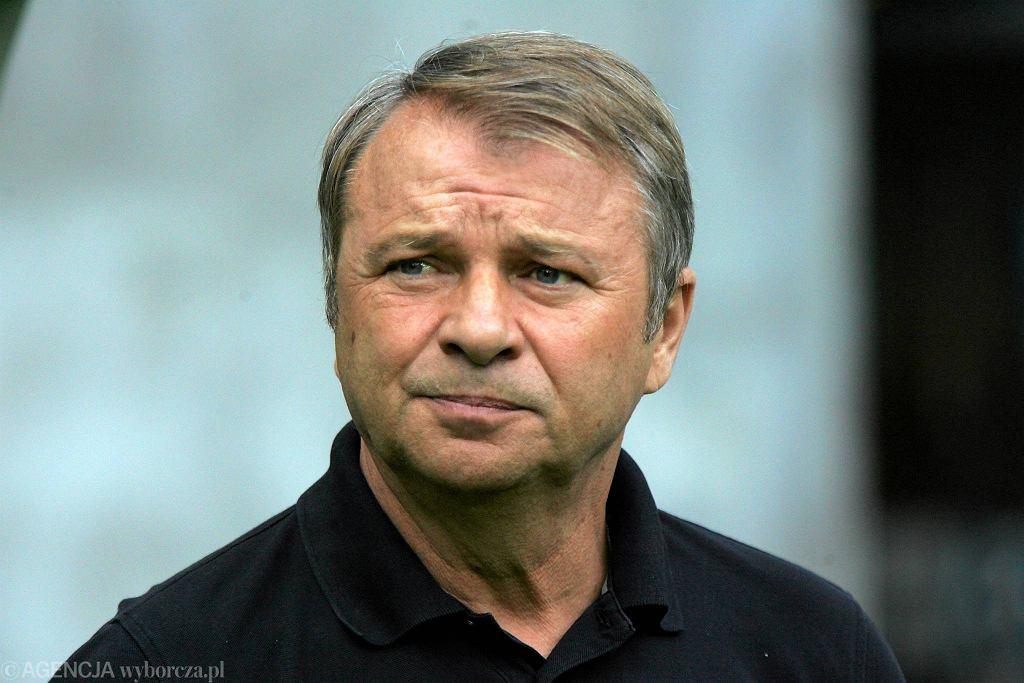 Trener Śląska Tadeusz Pawłowski