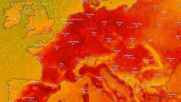 Fala upałów nad Europą