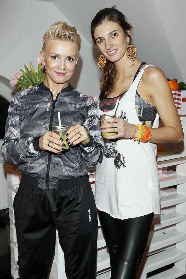 Kamila Szczawińska i Marta Kuligowska