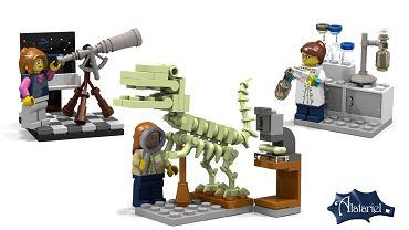 Zestaw kobiecych figurek Lego, który został dopuszczony do produkcji