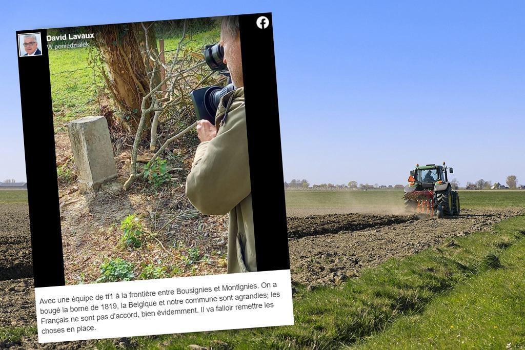 Rolnik z Belgii przypadkowo przesunął granicę z Francją