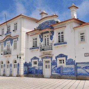 stary dworzec w Lizbonie